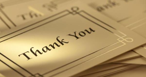 Tự tin nói lời cảm ơn: Dấu ấn của người dẫn đầu