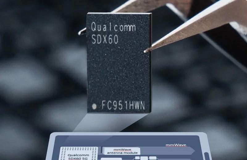 Snapdragon X60 ra mắt, tích hợp cả 2 băng tần mạng 5G