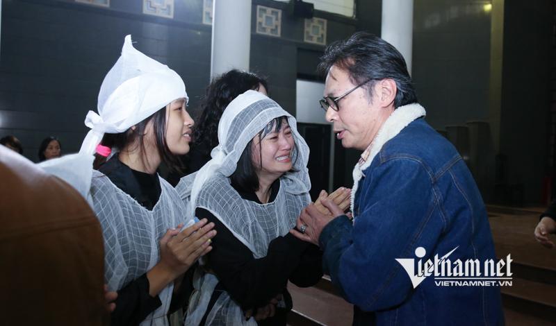 Thanh Lam, Trọng Tấn nén đau thương tiễn biệt NSƯT Vũ Mạnh Dũng