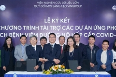 Vingroup pledges US$861,000 for coronavirus research in Vietnam