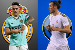 Real đẩy Bale sang Inter, lấy về Lautaro Martinez