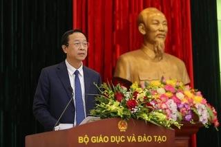 Trao quyết định bổ nhiệm tân Thứ trưởng Bộ GD- ĐT