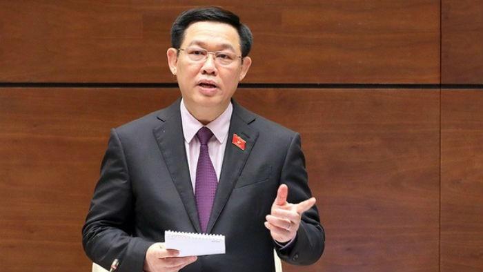 Phê chuẩn ông Vương Đình Huệ làm trưởng đoàn ĐBQH Hà Nội