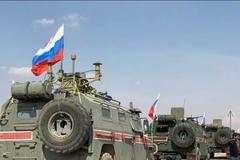Xuất hiện video nghi vấn xe quân sự Nga - Mỹ 'va chạm' ở Syria