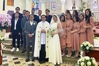 Soobin Hoàng Sơn phá tan dàn phù dâu phù rể trong đám cưới Tóc Tiên - Hoàng Touliver