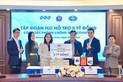 FLC trao tặng Bộ Y tế 5 tỷ đồng phòng chống dịch Covid-19