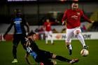 Club Brugge 1-1 MU: Martial gỡ hòa (H1)