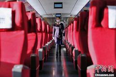 Hình ảnh những chuyến tàu cao tốc không người do Covid-19