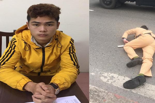 Danh tính đôi nam nữ vượt đèn đỏ, tông Trung úy CSGT ở Hà Nội