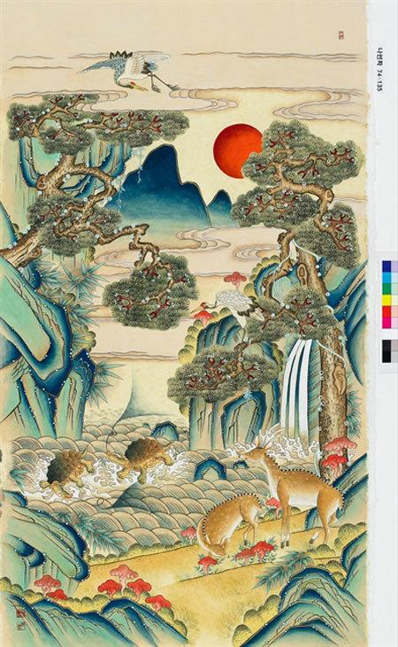 Hanoi,Korean folk paintings,displays,promote cultural exchanges