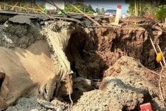 Thousands in Ca Mau affected by subsidence