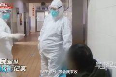 Coronavirus: Pregnant nurse 'propaganda' sparks backlash