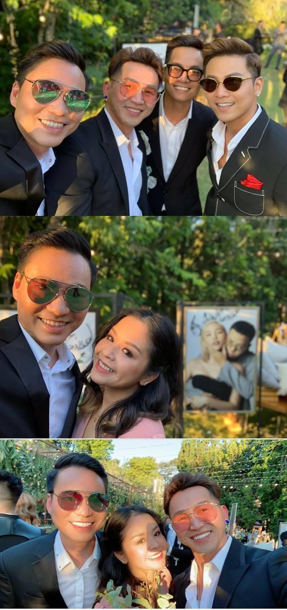 Sao Việt rầm rộ khoe ảnh chụp ở đám cưới Tóc Tiên và Hoàng Touliver