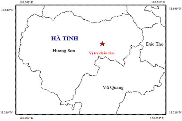 Rung lắc kèm tiếng nổ lớn ở Hà Tĩnh, dân vội chạy khỏi nhà