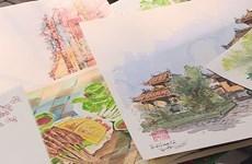 Sketchers spread love for Hanoi