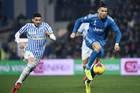 SPAL 0-1 Juventus: Ronaldo lập kỷ lục (H1)