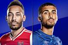 Arsenal 0-0 Everton: Cản bước Pháo thủ (H1)