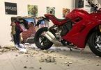 Siêu trộm khoét thủng tường để lấy cắp mô tô tiền tỷ Ducati