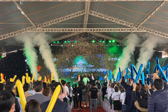 500 tư vấn viên tham gia lễ kick-off dự án Green Dragon City