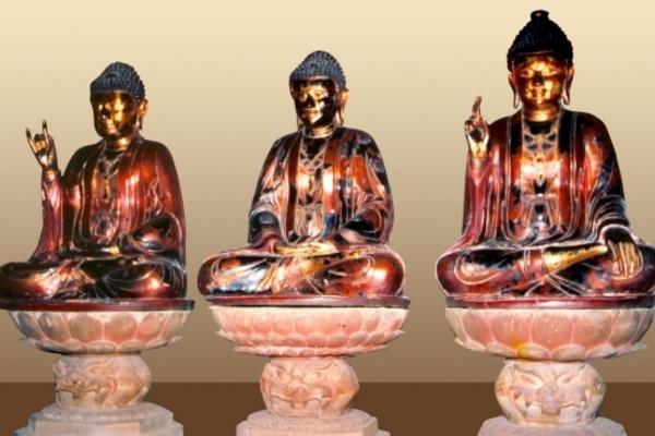 Nhóm 'siêu trộm' đội mũ trùm đầu, đột nhập chùa ăn cắp tượng cổ