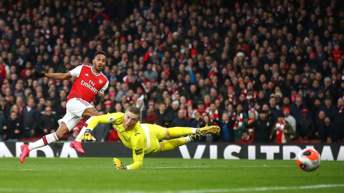 Aubameyang rực sáng, Arsenal lo mất 'sát thủ'