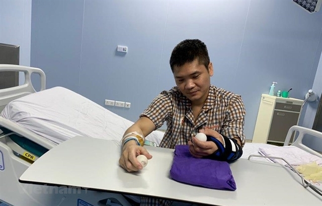 Vietnam successfully performs world's  first limb transplant from live donor
