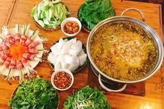 Vietnamese food: Crab hotpot
