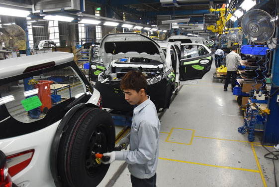 Business production hit because of lack of materials from China