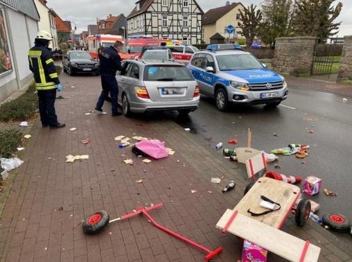 'Xe điên' lao vào đám đông ở Đức, hàng chục người bị thương