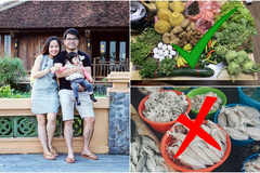 Ở trung tâm Hà Nội, mẹ bỉm sữa chi 6 triệu/tháng tiền ăn gia đình 5 người