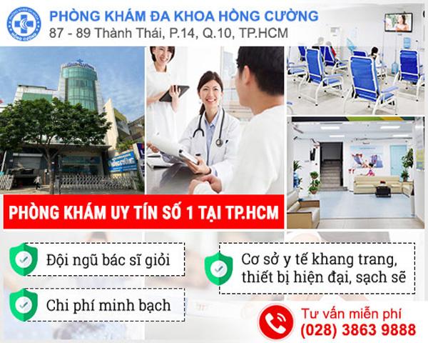 Phòng khám Hồng Cường - địa chỉ khám đa khoa ở TP.HCM