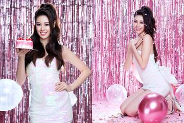 Hoa hậu Khánh Vân mừng tuổi 25 bằng bộ ảnh kỷ niệm đặc biệt