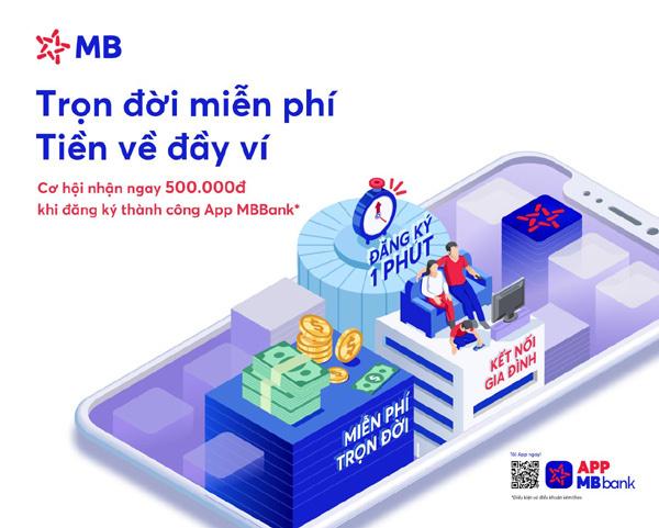 Miễn phí giao dịch Online thời Covid-19 cùng MBBank