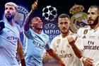 Trực tiếp Real Madrid vs Man City: Đại chiến luận anh hùng