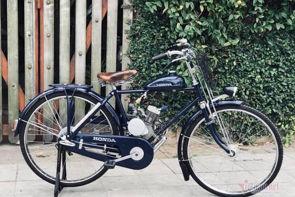 Xe máy Honda cổ 73 tuổi giá 65 triệu, cả Việt Nam có 3 chiếc