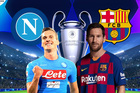 Trực tiếp Napoli vs Barcelona: Đôi công rực lửa