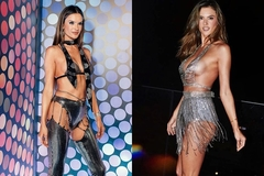 Siêu mẫu nội y Victoria's Secret mặc bra dự lễ hội carnival