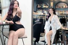 Nữ diễn viên 4 đời chồng diện áo tắm khoe dáng tuổi 44
