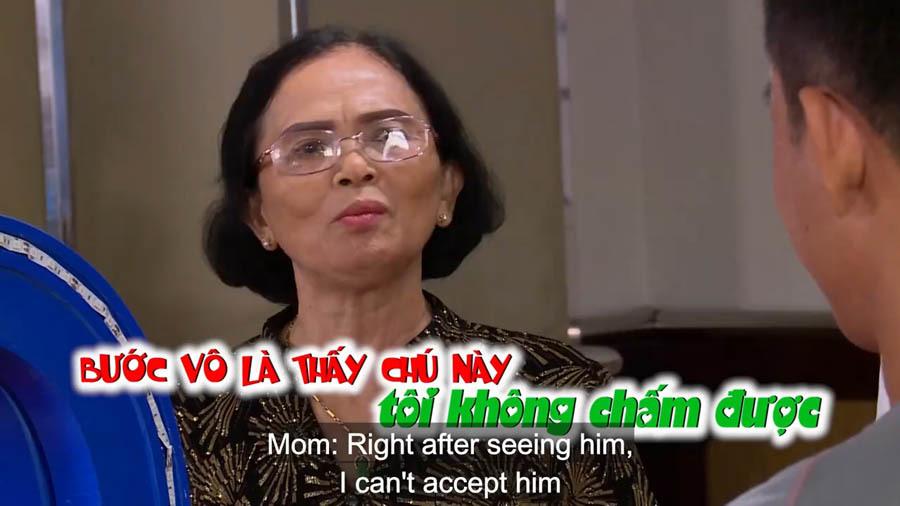 Chàng trai lên tiếng sau khi bị mẹ cô gái 35 tuổi chê tơi tả trên truyền hình