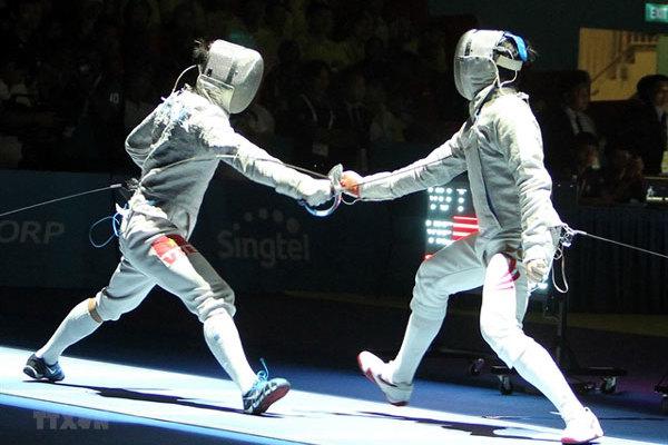 Fencer Vu Thanh An seeks second Olympics spot