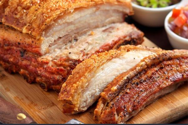 Mẹo làm giòn bì món thịt heo quay như ngoài hàng