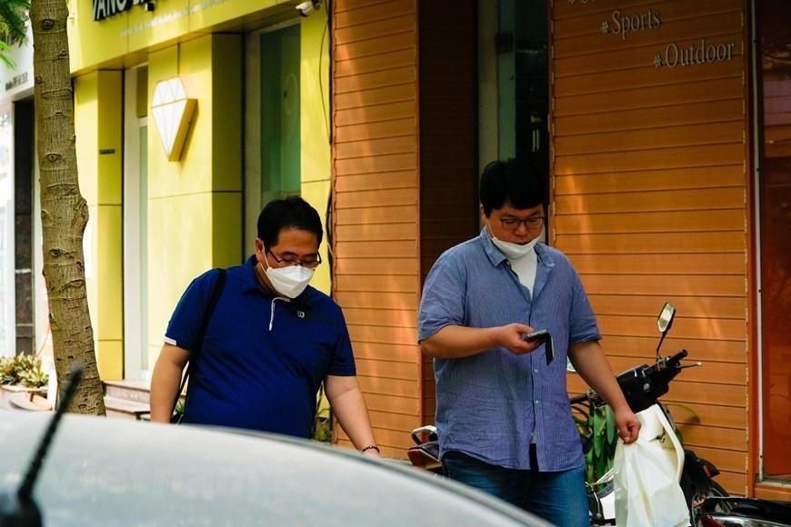 'Korean town' in Hanoi,covid 19,coronavirus,epidemic,south korea