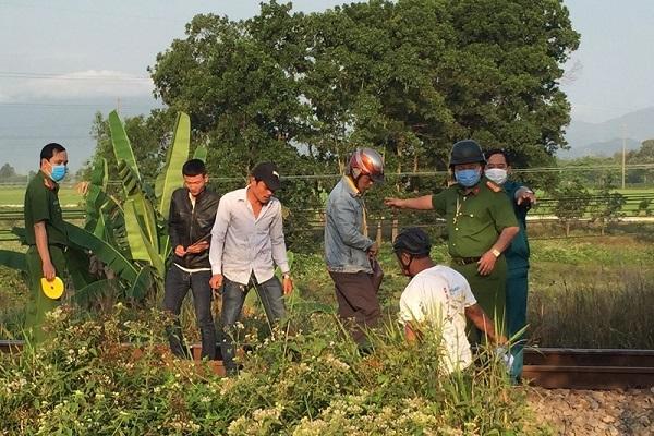 Nằm trên đường ray, thanh niên bị tàu hỏa tông chết ở Đà Nẵng