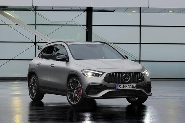 Mercedes-AMG GLA 45 ra mắt, quái thú trong thân hình nhỏ bé