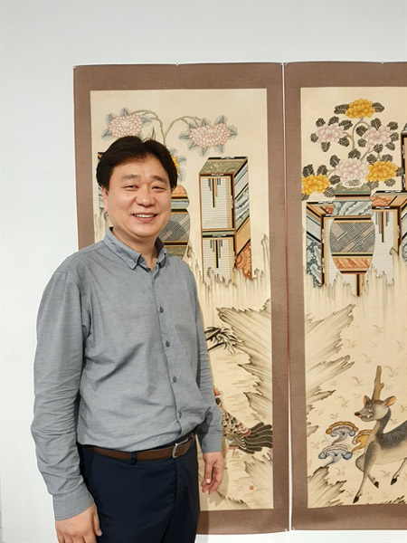 South Korean artists,folk paintings,exhibition,Dong Ho folk painting
