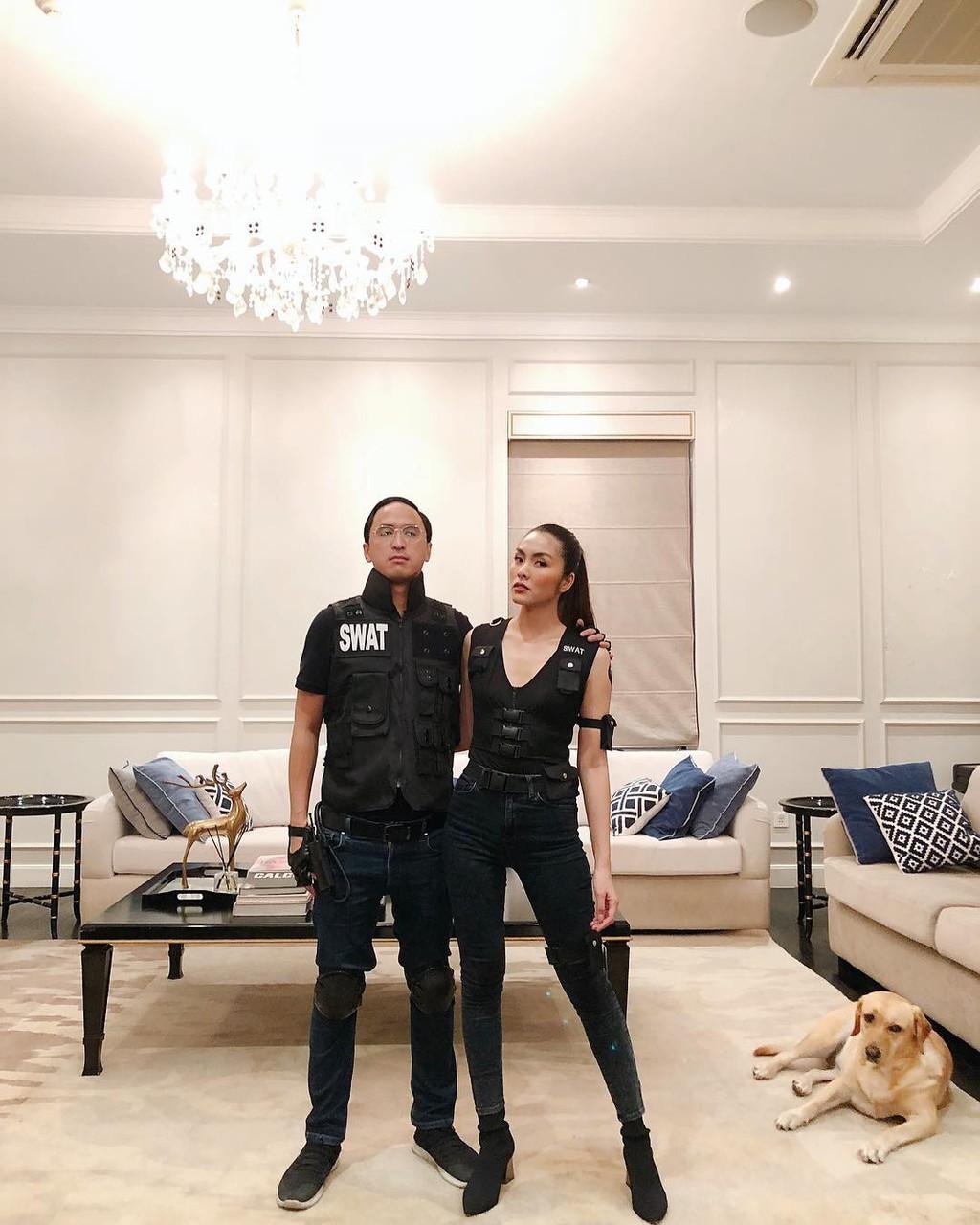 Bên trong căn biệt thự màu trắng của vợ chồng Tăng Thanh Hà