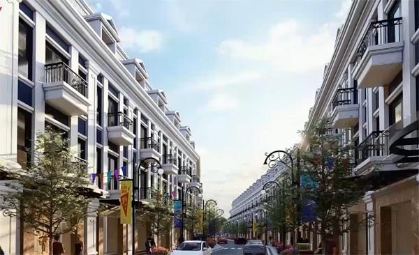 Nhà phố ngay trung tâm Dĩ An hấp dẫn nhà đầu tư