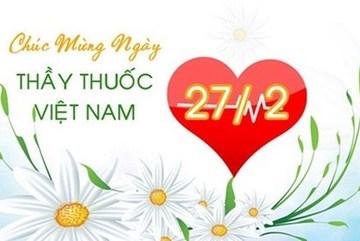 Những lời chúc ngày Thầy thuốc Việt Nam 27/2 ý nghĩa nhất