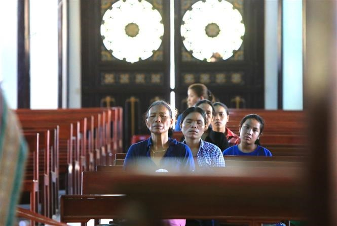 Hundred-year-old wooden church in Kon Tum