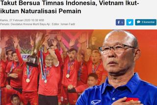 Báo Indonesia lên tiếng chuyện tuyển Việt Nam nhập tịch
